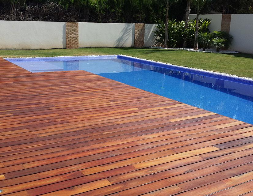 Terrazas de piscinas elegant ideas de piscinas pequeas for Pipor piscinas