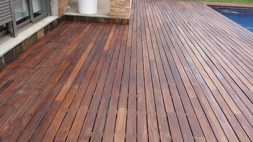 Tarimas de exterior de madera bolydeck interational for Ipe madera exterior